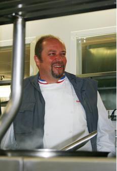 Gilles Goujon - Chef de l'Auberge du Vieux Puits