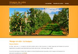 D couvrez les secrets du vinaigre de cidre le blog de - Faire son vinaigre de cidre ...