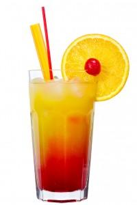 cocktail de jus de fruis