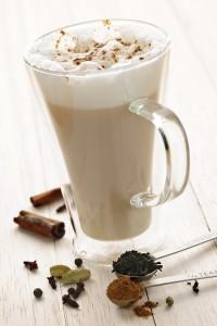 Chai Latte drink